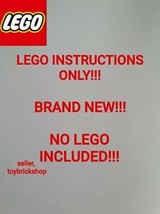 Lego star wars assault on hoth ucs 75098 ☆ INSTRUCTIONS ONLY ☆ NEW (D3)