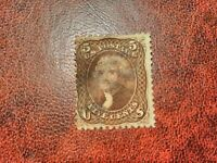 USA - 1861 / 66 - Thomas Jefferson Briefmarke - Mi:US 19x, Sn:US 76