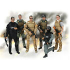 """1:6 Scale Army Police Soldier Flexible Military 12"""" Action Figures w/ ACCS ~"""