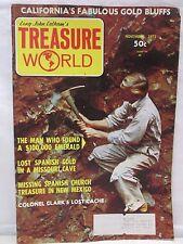 Treasure World Magazine November 1971 Hunting Lost Mines Gold Cache Buried