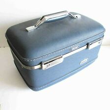 VTG Classic American Tourister TIARA Hard Train Cosmetic Case no key FREE SH