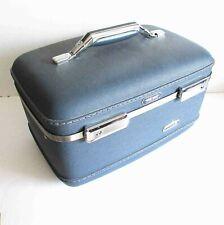 VTG Classic American Tourister TIARA Hard Train Cosmetic Case no key FREE SH