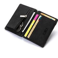 Magische Brieftasche Mini Geldbörse Portemonnaie Leder Magic Wallet Slim