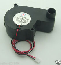 1Pcs 2-pin Brushless Dc fan Cooling Blower Fan 12V 0.25A 55x55x28mm No-5028 Fans
