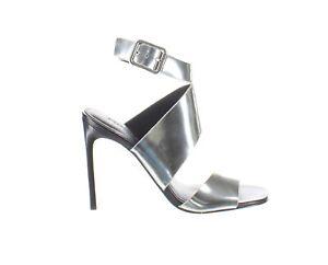 Sigerson Morrison Womens Smimala Silver Sandals Size 6.5