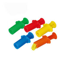 5X Plasticine Dough Craft Tool Clay Extrusion Plastic Mold Set Kids Play Toy 0n