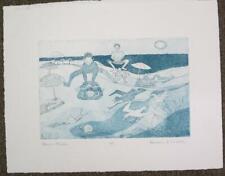 Barbara Melcher (Cape Cod) Original Ltd Ed Etching #3/5