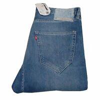 13877 Neuf Levi's Slim Skinny Fit Bleu Étiquette Stylé 902 Hommes Jean En Taille