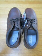 ROCKY 12 MEDIUM BROWN CASUAL WORK SAFETY STEEL TOE MENS SHOES NEW NO BOX NOS