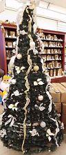 Christmas: LB International 6 Ft Pop-Up Lighted Tree 350 White Lights Complete!