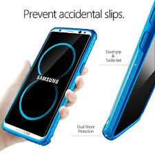 Poetic Affinity【Reinforced Corner Protection】Bumper Case For Galaxy S8 Plus Blue