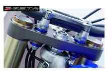 Alluminio Gomma Killer Manubrio Husqvarna TC FC 125 250 35 Blu Cono di 2016