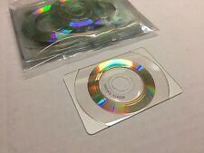 10x Mini CD Disks Discs Business Card CD B Card