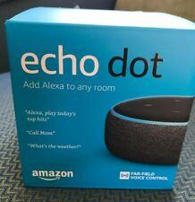 Amazon Echo Dot (3rd Gen) Smart Speaker (Charcoal)