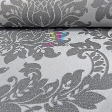 2x Italian Damask . Holden Decor Clara Charcoal Glitter Wallpaper 35391