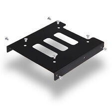 """2.5"""" to 3.5"""" SSD HDD Metal Adapter Mount Bracket Hard Drive Holder For PC Nice"""