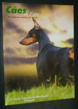 Caes de Fato Brazilian Magazine Doberman Pinscher Yorkshire Terrier Cover