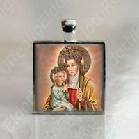 St. Anne - Catholic Christian Medal Pendant Patron Saint Religious Jewelry