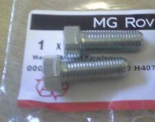 MGTF MGF REAR BRAKE CALIPER TO HUB BOLTS (New Genuime MG Rover) GT MG SPARES LTD