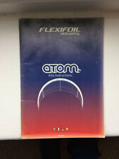 Flexifoil Atom Kite Instruction book!