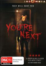You're Next NEW DVD (Region 4 Australia)
