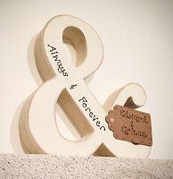 Personalised Engagement Anniversary Wedding gift - handmade wooden &