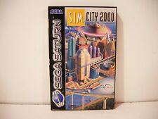 SimCity 2000 SEGA Saturn Pal Euro
