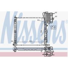 Kühler Motorkühlung - Nissens 62559A