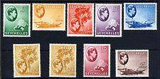 SEYCHELLES King George VI 1938-49 Part Set + Variety SG 136 to SG 143 MINT