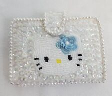 1999 Sanrio HELLO KITTY BEADS Sequins PHOTO & CARD Holder WALLET 12 Pockets NEW