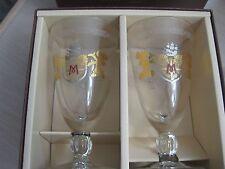 Tokyo Disney Sea Hotel Miracosta Mickey Minnie Glasses Set of 2
