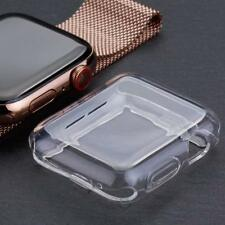 For Apple Watch Series 4 40mm Full 360° Clear Gel Silicone Case Cover Protector