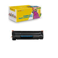 1PK Compatible CF279A Black Toner Cartridge for HP LaserJet Pro M12w and M26nw