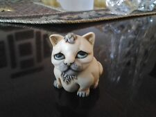"Vintage Harmony Kingdom Pot Bellys ""Mouser"" Limited Edition collector's box"