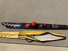 "Vintage Jobe Honeycomb 67"" slalom water ski with original case"