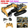 HuiNa 1580 1:14 Full Metal Excavator 23CH 3 in 1 Engineering Crane Vehicle ❤