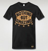"""""""NOTHING BUT AMAZING"""" T-SHIRT to Match LeBron 12 EXT """"KING's CORK"""""""