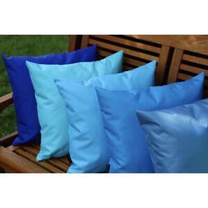 WATERPROOF Outdoor Cushion Cover Garden Furniture Cushions Seat 50x30cm 40x40cm