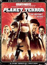 Planet Terror (DVD, 2007, 2-Disc Set, Extended Directors Cut)