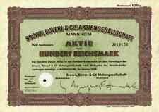 Brown Boveri Mannheim BBC ABB 1938 Zürich Västeras ASEA 100 RM Västeras Schwede