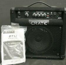 Crate Bt-15 Bass/Guitar Amplifier