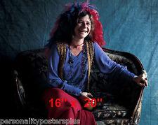 "Janis Joplin~Color~ Poster~16"" x 20"" Photo"