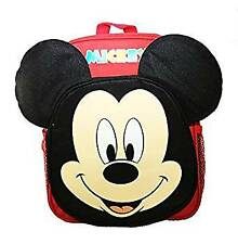 Small Backpack - Disney - Mickey Mouse Face w/3D Ear New 125608