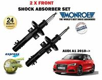 FOR AUDI A1 TFSI + TDI 2010-2015 NEW 2 X FRONT LEFT + RIGHT SHOCK ABSORBER SET