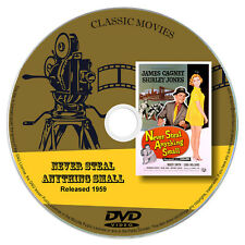 Never Steal Anything Small 1959 Classic DVD Film - Comedy, Drama, Musical