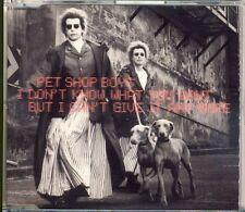 PET SHOP BOYS - i don't know what... 4 trk MAXI CD 1999