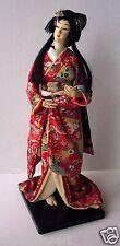 """Vintage GEISHA DOLL w Lovely Kimono 16"""""""