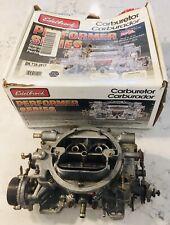 Edelbrock Performer 1400 Performance 4 Barrel 600 Cfm Electric Choke Carburetor