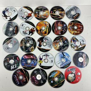 Lot Of 24 Microsoft Xbox Original Video Games Untested Scratch Disc No Cracks