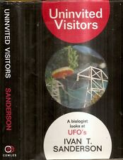 UNINVITED VISITORS, Biology of UFO's by I.T. Sanderson ( 1967, Hardcover)
